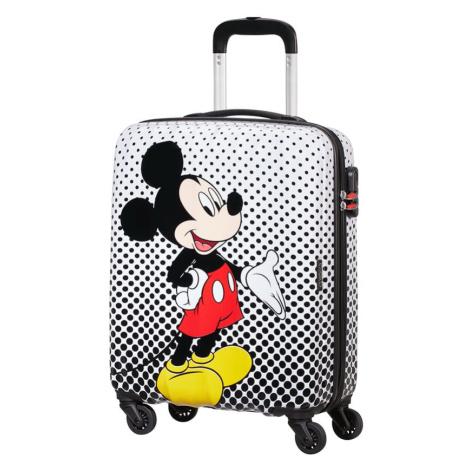 American Tourister Kabinový cestovní kufr Disney Legends Spinner 19C 36 l - Mickey Mouse Polka D