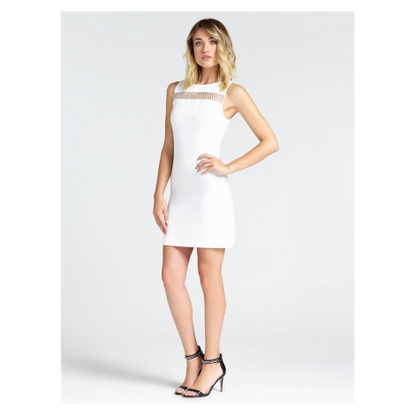 Guess GUESS dámské bílé šaty