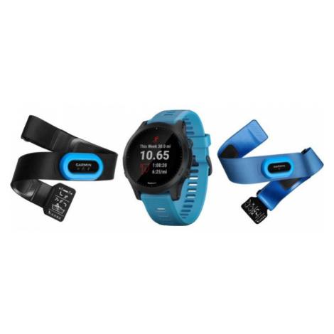 Multisportovní smart GPS hodinky Garmin Forerunner 945 Blue & Slate Tri-Bundle