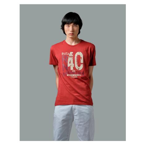 Tričko La Martina Man Tshirt S/S Jersey - Červená