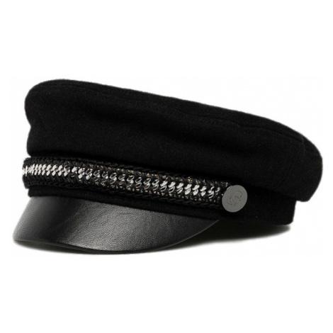 Černý baret KARL LAGERFELD