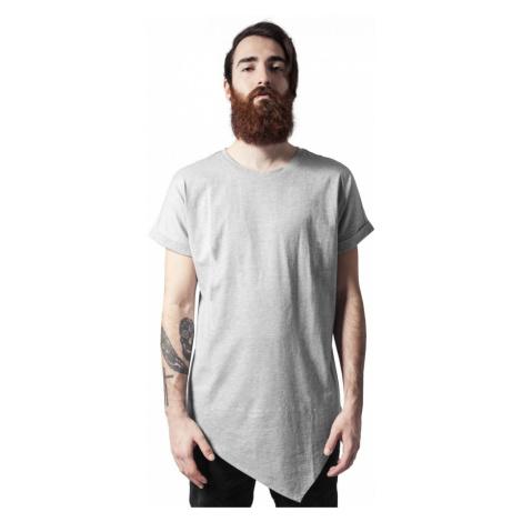 Asymetric Long Tee - grey Urban Classics