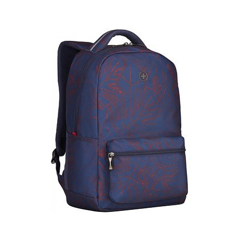 "WENGER COLLEAGUE 16"", navy fern print"