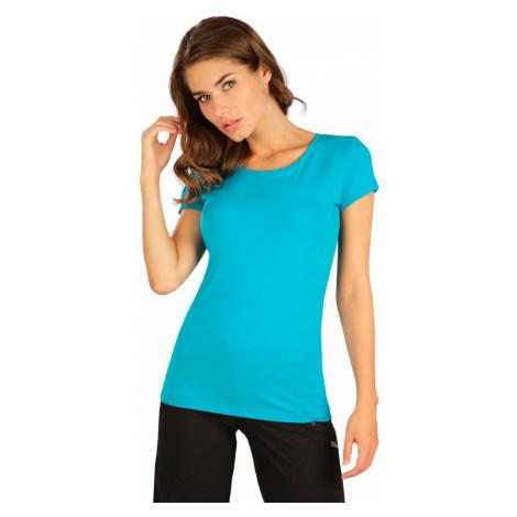 LITEX Tričko dámské s krátkým rukávem 5B287504 tmavě tyrkysová