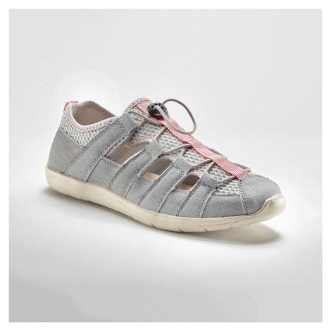 Blancheporte Nízké tenisky s ažurou, šedé šedá