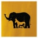 Slon, pes, kočka - Pánské triko Fantasy sportovní (dresovina)