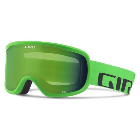Lyžařské brýle Giro Cruz Bright Green Wordmark Barva obrouček: zelená