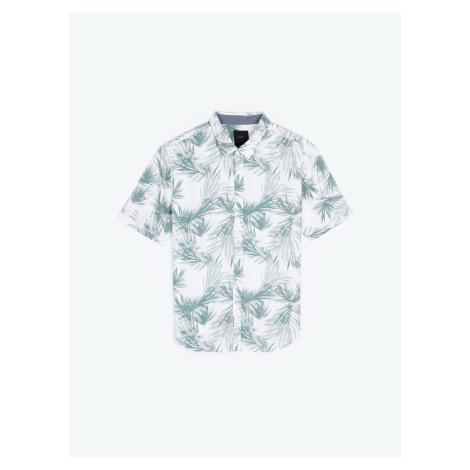 GATE Viskózová košile s květinovým potiskem