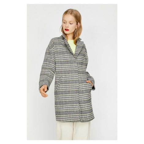 Koton Women's Grey Coat