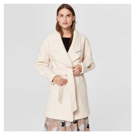 Krémový kabát Paja Selected