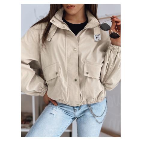 Béžová dámská lehká bunda TY1754 BASIC