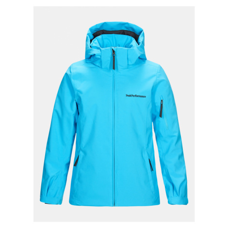 Bunda Peak Performance Jr Anima J Active Ski Jacket - Modrá