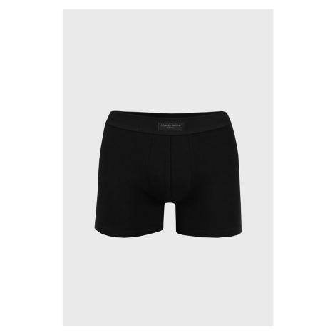 Pánské boxerky Cotton Nature černé černá