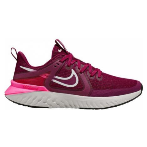 Nike LEGEND REACT 2 W vínová - Dámská běžecká obuv