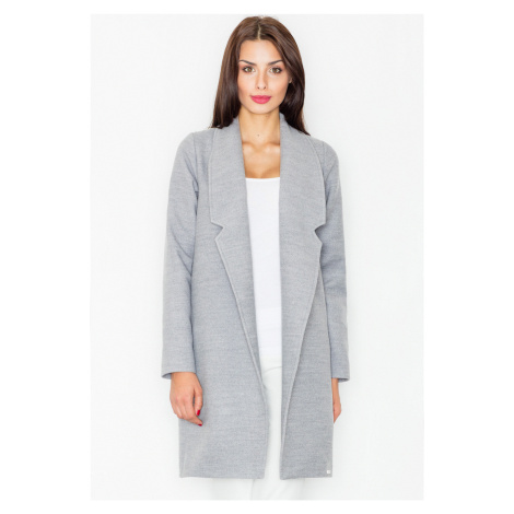 FIGL Šedý podzimní kabátek M531 Grey