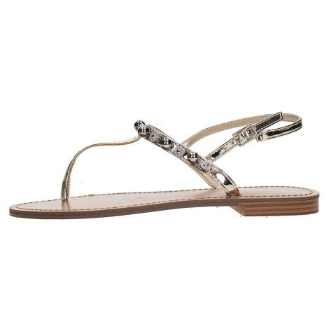 Zlaté sandály - VERSACE JEANS