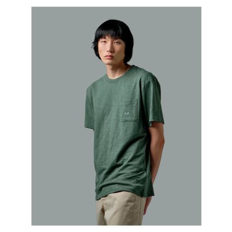 Tričko La Martina Man Tshirt S/S Slub Jersey - Zelená