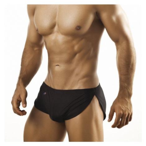 JOE SNYDER černé boxerky s rozparkem JS09