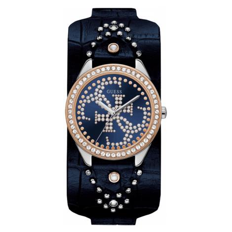 Dámské modro-zlaté hodinky - GUESS