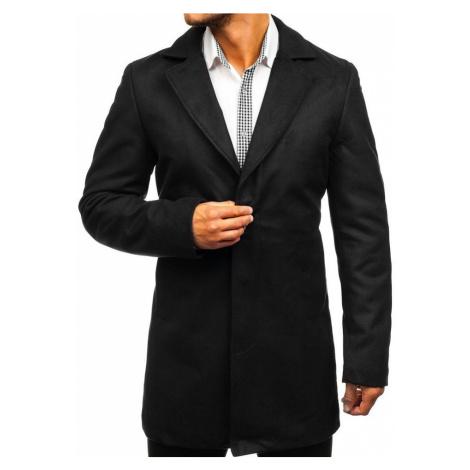 Černý pánský zimní kabát Bolf 5438 Nature