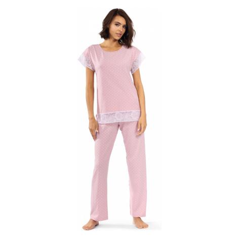 Dámské pyžamo P-1524 růžová Lorin