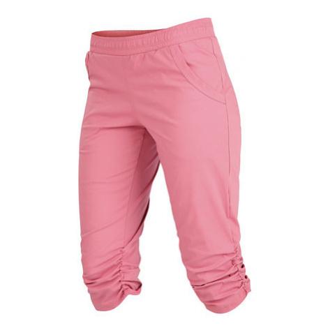 Dámské kalhoty v 3/4 délce Litex 5A282   starorůžová