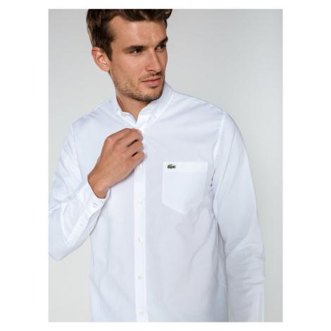 Košile Lacoste Bílá