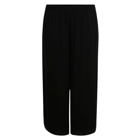 Urban Classics Curvy Kalhoty 'Culotte' černá