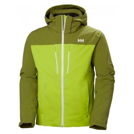 Helly Hansen SIGNAL JACKET zelená - Pánská lyžařská bunda