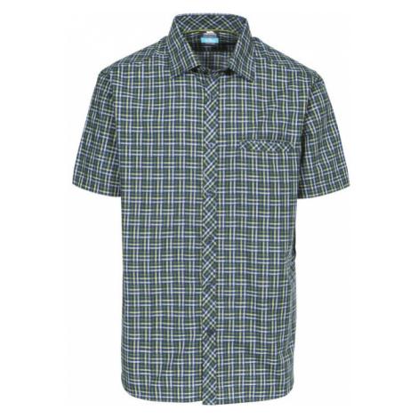 Trespass BAFFIN Pánská košile MATOSBN10006-OCK OLIVE CHECK