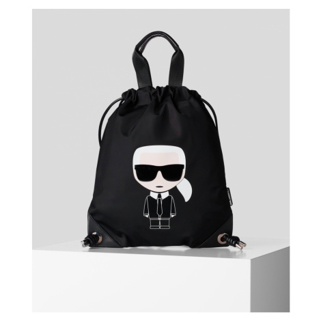 Batoh Karl Lagerfeld Ikonik Nylon Flat 09