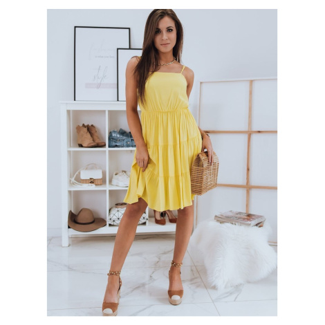POLA yellow dress Dstreet EY1530