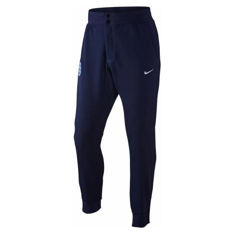 Kalhoty Nike Ent Auth V442 Tmavě modrá / Bílá