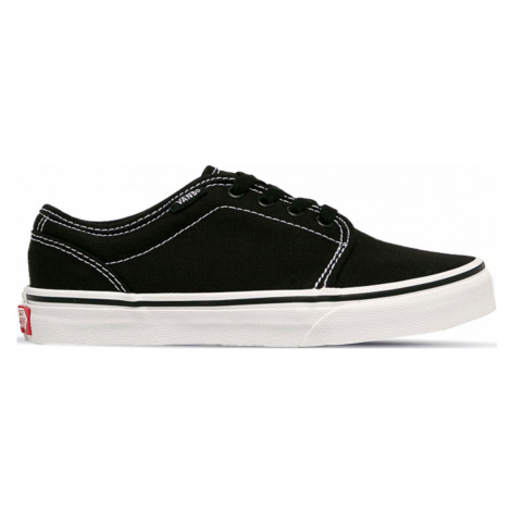 Vans Jn 106 Vulcanized Black/True White Junior černé VN0A4UH66BT