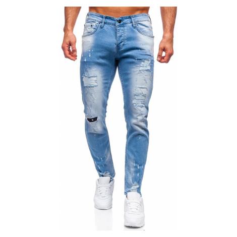 Modré pánské džíny regular fit Bolf R916 RWX