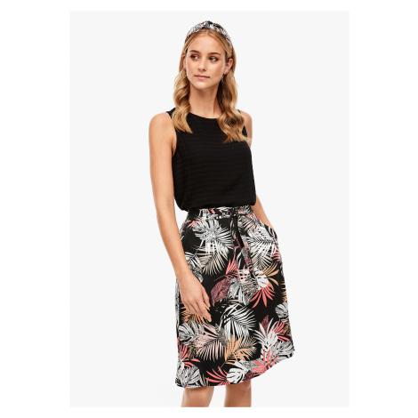 s.Oliver dámská sukně s potiskem 14.005.78.6753/99A2