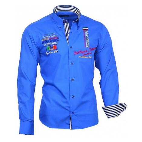 BINDER DE LUXE košile pánská 81603 dlouhý rukáv