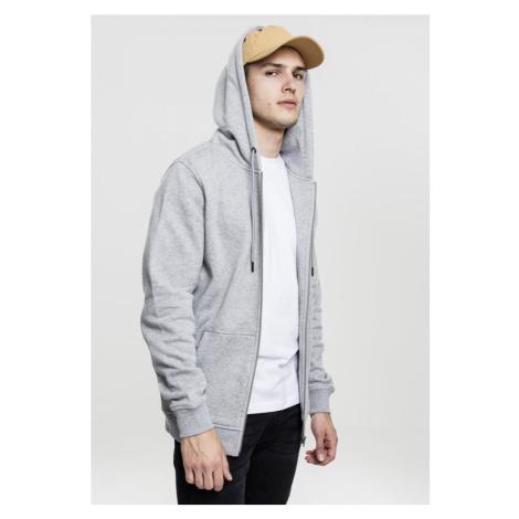 Basic Zip Hoody - grey Urban Classics