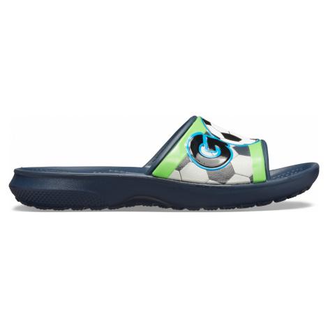 Crocs CrocsFL Sports Fan Slide K Navy J3