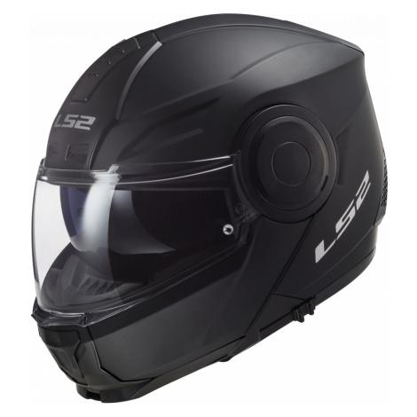 Výklopná Moto Přilba Ls2 Ff902 Scope Solid Gloss Black