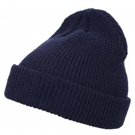 Long Knit Beanie - navy Urban Classics