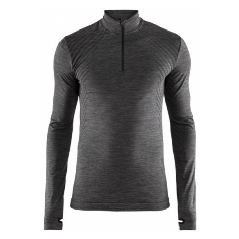 Pánské tričko CRAFT Fuseknit Comfort Z tmavě šedá