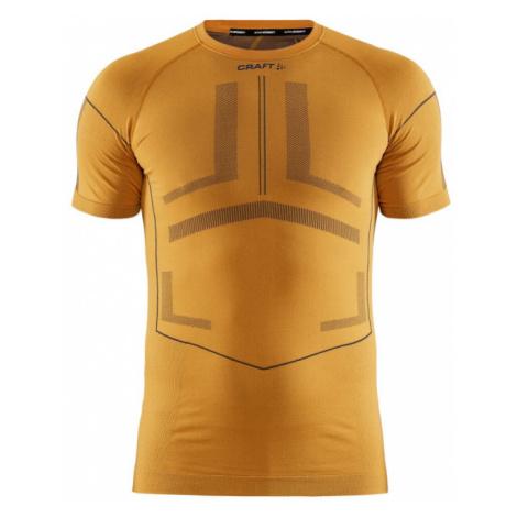 Pánské tričko CRAFT Active Intensity SS oranžová
