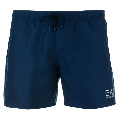 Pánské tmavě modré plavky Emporio Armani