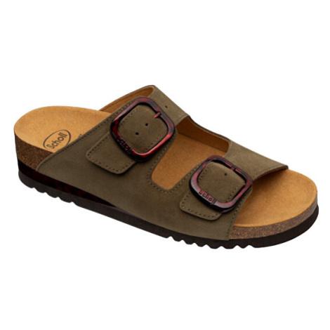 Scholl Zdravotní obuv - ILARY STRAPS Sue-W - Olive
