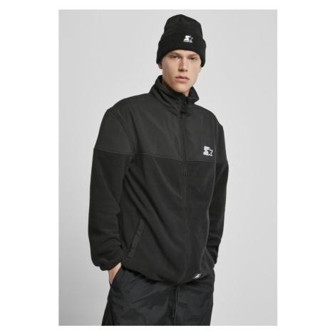 Starter Polarfleece Jacket - black Urban Classics