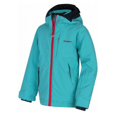 Dětská lyžařská bunda HUSKY Zisi tlumená tyrkysová