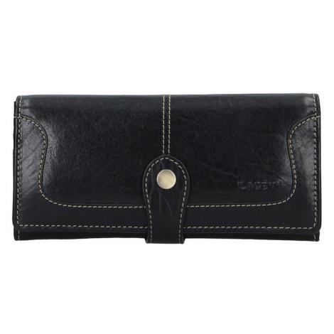Dámská kožená peněženka Lagen Berta - černá