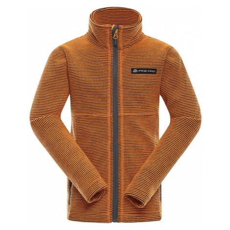 ALPINE PRO ENEASO 6 Dětský svetr KPLN011309 jasně oranžová