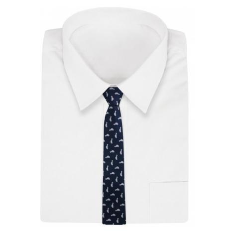 Buďchlap Granátová kravata s originálním vzorem